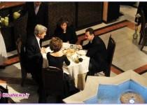 شام خانوادگی بشار اسد و جان کری /عکس