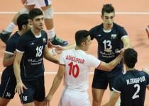 عنوان پنجمی والیبالیستهای جوان ایران در جهان