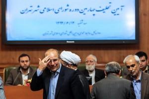 قالیباف برای بار سوم شهردار تهران شد