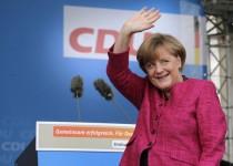 مرکل برای سومین بار صدراعظم آلمان شد