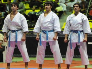 تیم کاتای مردان ایران به مدال برنز دست یافت
