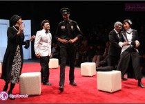 گزارش تصویری از اجرای نمایش شایعات