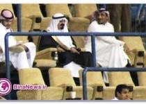 فردی که شباهتش با پادشاه عربستان ورزشگاه را به هم ریخت + تصاویر