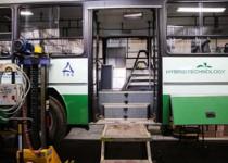 افزایش اتوبوسهای هیبریدی در خطوط تندرو