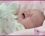 دختر بچهای که با دو دندان بدنیا آمد+عکس