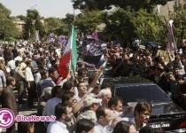 فرياد «روحاني مُچكريم» مردم در استقبال از رييس جمهوري