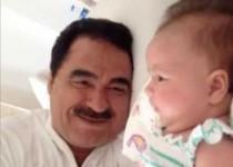 ابراهیم تاتلیسس براي دختر 4 ماهه اش ميخواند/كليپ
