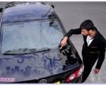 اشکال حیرت آور بر روی گرد و خاک خودروها + تصاویر