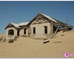شهر مدفون شده در زیر شن های صحرای نامیبیا + تصاویر