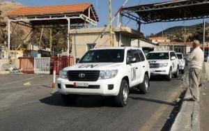 عملیات امحای تسلیحات شیمیایی سوریه رسما آغاز شد