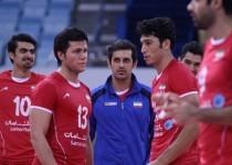 مسابقات قهرمانی آسیا - دیدار تیم ملی والیبال ایران و کره جنوبی