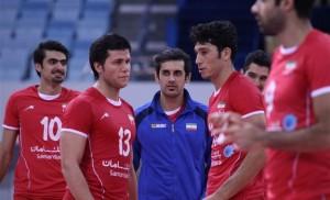 مسابقات قهرمانی آسیا – دیدار تیم ملی والیبال ایران و کره جنوبی