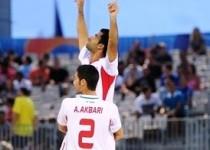 تيممليفوتبال ساحلي ايران قهرمان شد