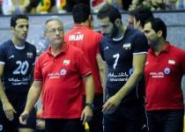 برنامه والیبال جام قهرمانان قاره ها به وقت تهران
