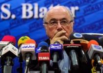 نشست خبری سپ بلاتر رئیس فیفا / برای پول بلوکه شده شما تصمیم میگیریم