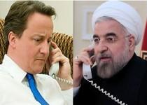 گفتوگوی تلفنی حسن روحانی و نخست وزیر انگلیس
