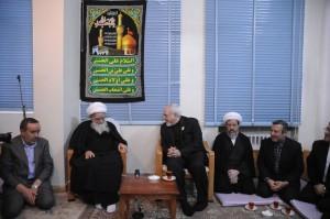 دیدار محمدجواد ظریف با مراجع تقلید