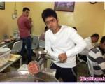 اعتراض جالب ورزشکار؛اخلاق پسند در یک رستوران عراقی مشغول شد+عکس