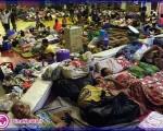 طوفان هایان فیلیپین ۱۲۰۰ قربانی گرفت+تصاویر