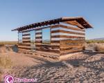 اولین خانه آینه ای در بیابانی خالی از سکنه + تصاویر