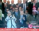 روز تاریخی در شهر دیاربکر ترکیه با حضور نخست وزیر ترکیه و مسعود بارزانی