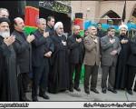 عزاداری رئیس جمهور در کنار سالمندان و معلولین آسایشگاه کهریزک