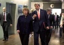 دیدار مجدد وزرای خارجه ایران و آمریکا و اشتون