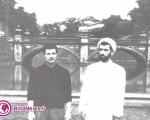 عکس قبل از انقلاب آیت الله هاشمی با لباس شخصی