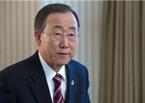 بان کیمون: از مشارکت ایران در «ژنو ۲» حمایت میکنیم