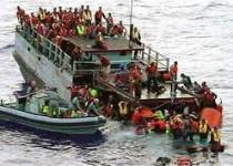 قایق پناهجویان ایرانی در راه استرالیاغرق شد