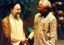 سیدمحمد خاتمی: ماندلا نمیمیرد