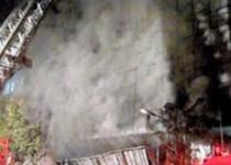 «سینما ایران» آتش گرفت/200 نفر از حریق نجات یافتند