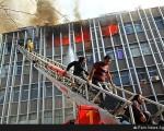 علت مرگ ۲ زن در آتش سوزی کارگاه تولیدی خیابان جمهوری + فیلم و تصاویر
