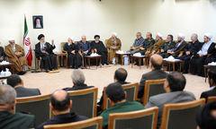 رهبر معظم : دفاع مقدس آزمون بزرگ ملت ایران در بروز استعدادها بود