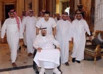 روزنامه المنار فلسطین از وخامت حال پادشاه عربستان خبر داد
