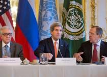جزئیات کنفرانس مشترک خبری کری، لاوروف و اخضر ابراهیمی