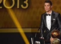 کریستیانو رونالدو مرد سال 2013 فوتبال جهان