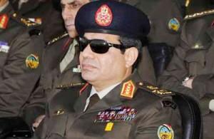 نظامیان مصری السیسی را برای نامزدی در انتخابات ریاست جمهوری مکلف کردند
