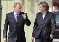 نصیحت مرکل به کرملین و هشدار پوتین نسبت به مداخله خارجی در اوکراین