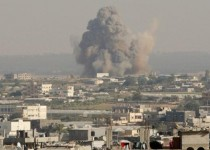 حمله جنگندههای رژیم صهیونیستی به پایگاههای حماس در غزه
