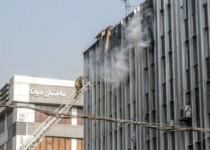 توضیح آتشنشانی درباره علت بازنشدن نردبام
