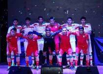 رونمایی از پیراهن تیم ملی در جام جهانی 2014