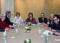 ظریف: درباره مذاکرات بعدی ایران و 1+5 با جان کری صحبت کردم