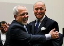 ظریف: توافق ژنو فرصتی استثنایی برای منافع ایران و فرانسه است
