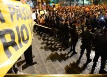 اعتراضات برزیلیها به خشونت کشیده شد