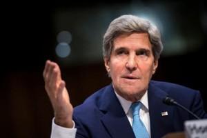 کری ایران و روسیه را به تضعیف مذاکرات صلح سوریه متهم کرد
