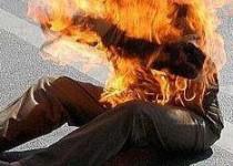 روایت فیسبوک زنگنه از حادثه خودسوزی مقابل وزارت نفت
