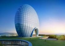 نخستین هتل تخممرغی جهان، جاذبه جدید گردشگری چینی