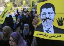 تظاهرات شبانه حامیان اخوان المسلمین در مصر