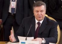 یانوکوویچ در روسیه : من رئیس جمهور قانونی اوکراینم